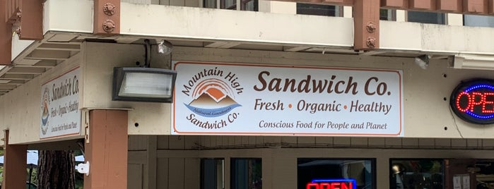 Mountain High Sandwich Co is one of Secret Cove.