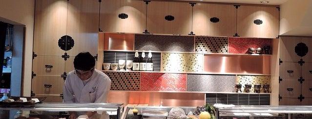 Sushi-dokoro Marui is one of lovely chuo-ku.