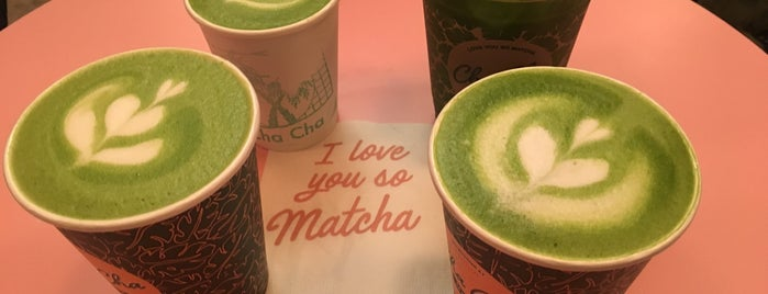 Cha Cha Matcha is one of Lieux qui ont plu à Tania.