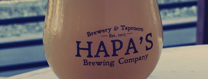 Hapa's Brewing Company is one of Posti salvati di Jeff.