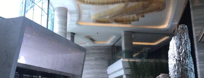 JW Marriott Shenzhen Bao'an is one of Tempat yang Disukai A. Taner.