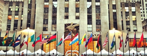 Rockefeller Center is one of #NYC2017.