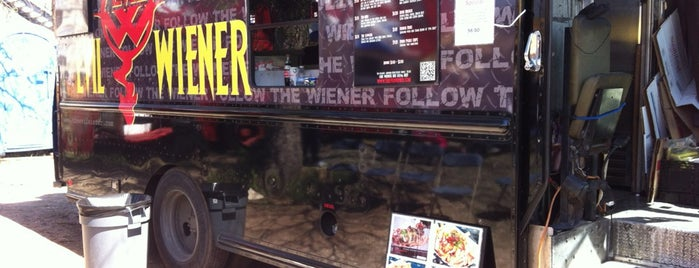 Evil Wiener is one of TV Food Spots: Austin Metro Area.