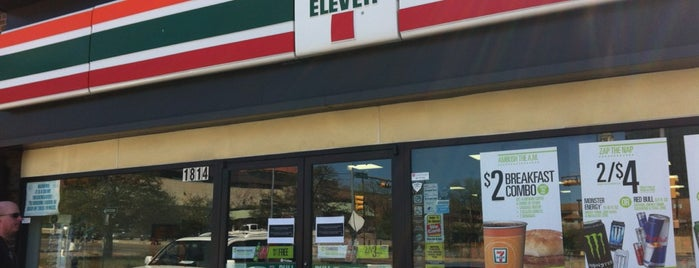 7-Eleven is one of Carina : понравившиеся места.
