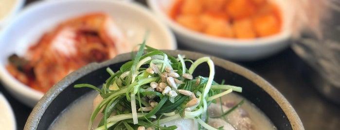 발산삼계탕 is one of 강서맛집.