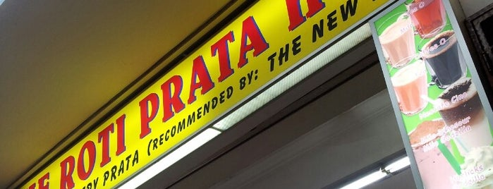 The Roti Prata House is one of Food at Thomson.