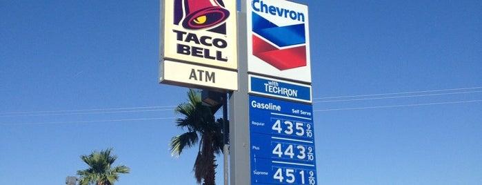 Chevron is one of สถานที่ที่ James ถูกใจ.