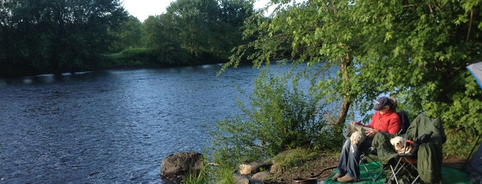 Kittatinny River Beach Campsites is one of Justinさんのお気に入りスポット.