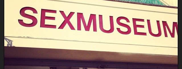 Sexmuseum is one of Amsterdam 2018.