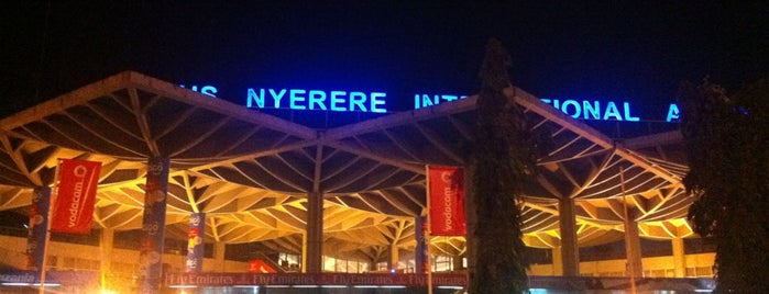 Julius Nyerere International Airport (DAR) is one of JRA'nın Kaydettiği Mekanlar.