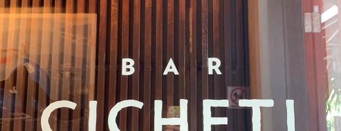 Bar Cicheti is one of Lugares favoritos de Jimena.