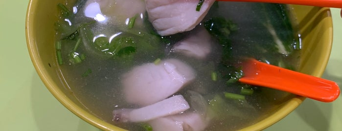 Han Kee Fish Soup is one of Phucket & SG.