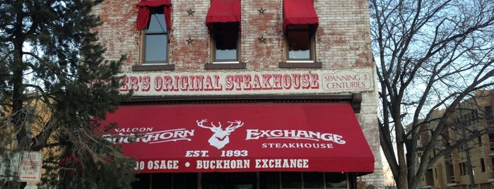 The Buckhorn Exchange is one of Denver Places.