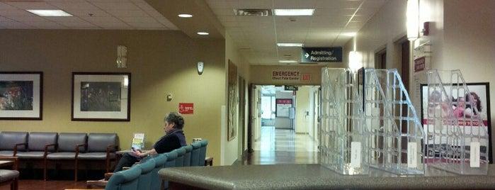 Registration Check-in at Denton Regional Medical Center is one of Posti salvati di Esther.