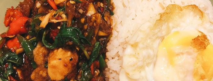 Kra Pow Thai Street Food is one of Sing resto.