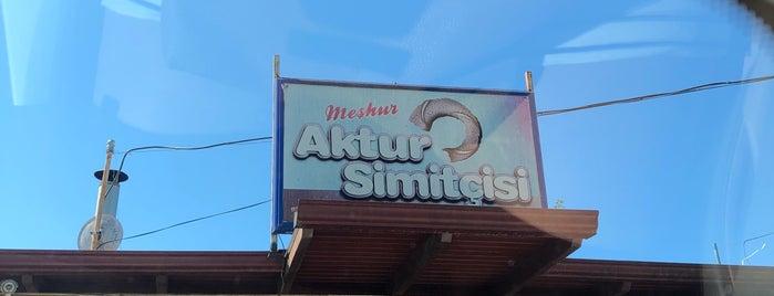 Meşhur Aktur Simitçisi is one of Tempat yang Disukai Dsignoria.