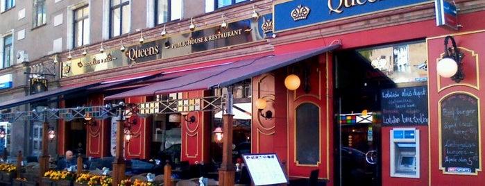 Queens Pub is one of 🌹ГУЛЬНАРА'ın Beğendiği Mekanlar.