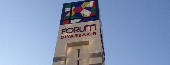 Forum Diyarbakır is one of Orte, die Gülnur gefallen.