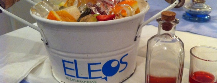 Eleos is one of Istanbul Seafood.