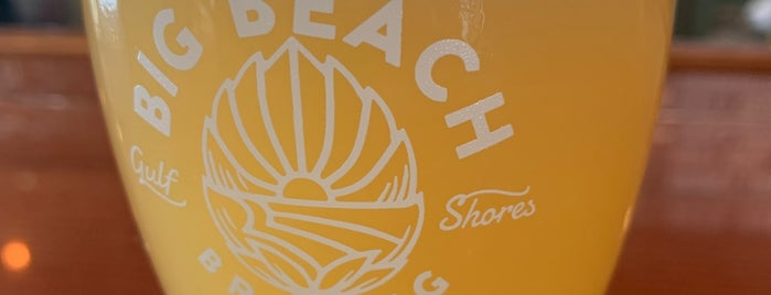 Big Beach Brewing Company is one of Gulf Shores 2021.