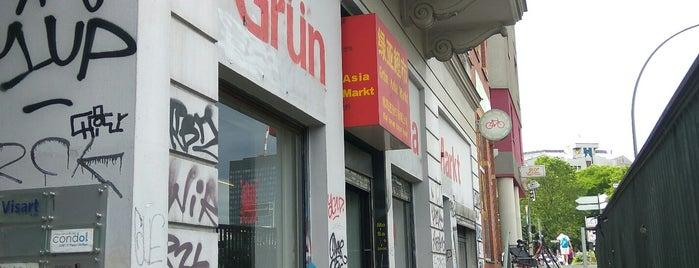 Grűn Asia Markt is one of CIEE.