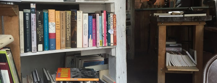 Molasses Books is one of Work cafes.