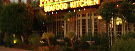 Pappadeaux Seafood Kitchen is one of PHX place to try.