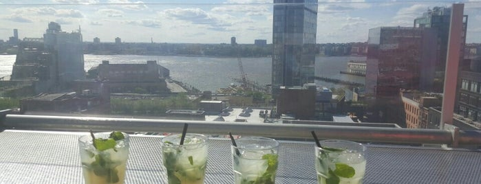 Uber Top Destinations: Hotel Rooftop Bars