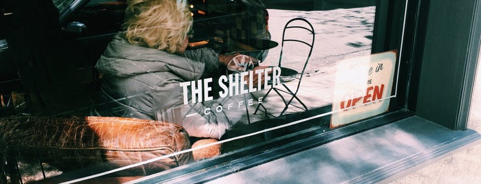 The Shelter Coffee is one of S4F.