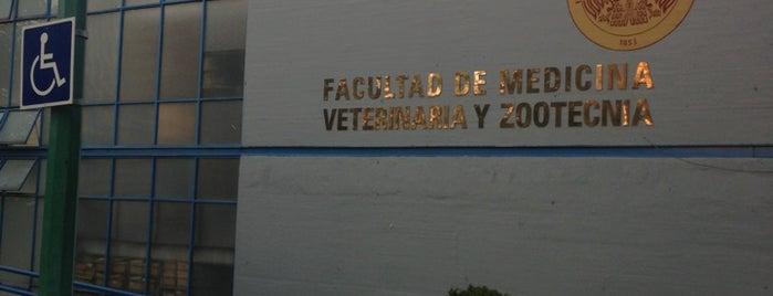 UNAM Facultad de Medicina Veterinaria y Zootecnia is one of CU!.