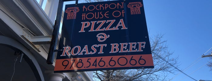 Rockport House of Pizza and Roast Beef is one of Rockport.