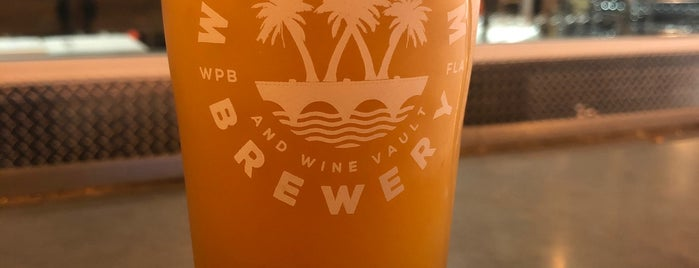 West Palm Brewery & Wine Vault is one of Rock Star.