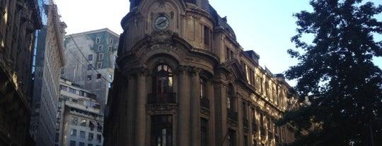 Bolsa de Comercio de Santiago is one of [S]antiago.