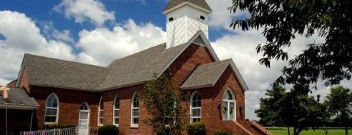 Oak Grove Baptist Church is one of Tempat yang Disukai Dawn.