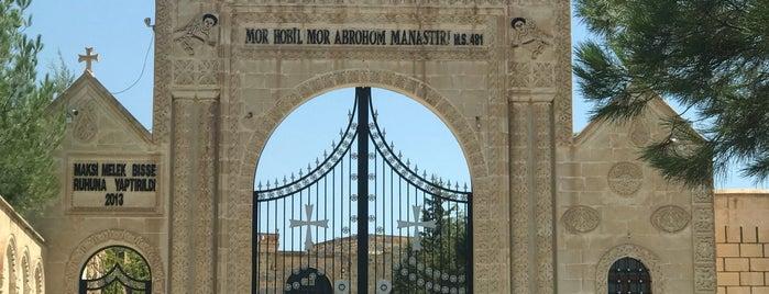 Mor Gabriel Manastırı is one of Mardin: Gezilecek yerler.