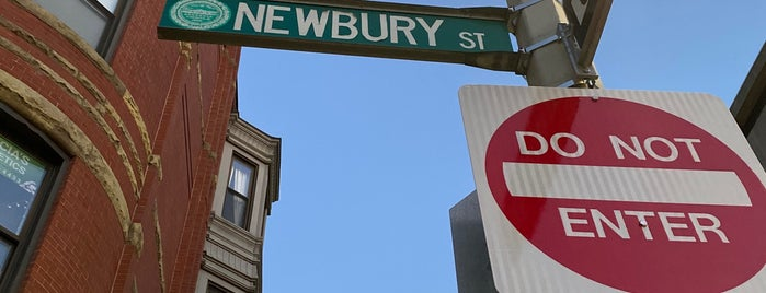 Newbury St is one of Boston to visit.