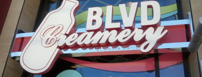BLVD Creamery is one of Vegas Places.