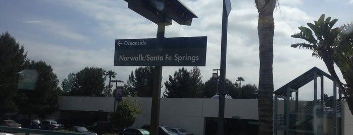 Metrolink Norwalk/Santa Fe Springs Station is one of Daily Commute.