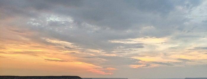 Yavapai Point is one of Arizona.