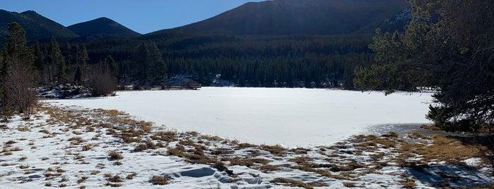 Sprague Lake Trailhead is one of Colorado Roadtrip.