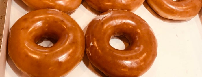 Krispy Kreme Doughnuts is one of Bakery/Deserts.