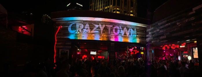 Crazytown is one of Nashville TN.