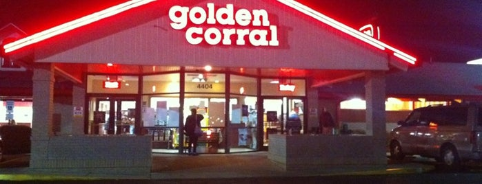 Golden Corral is one of Orte, die Waleed gefallen.