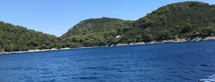Uvala Saplunara (otok Mljet) is one of Lieux qui ont plu à Laura.