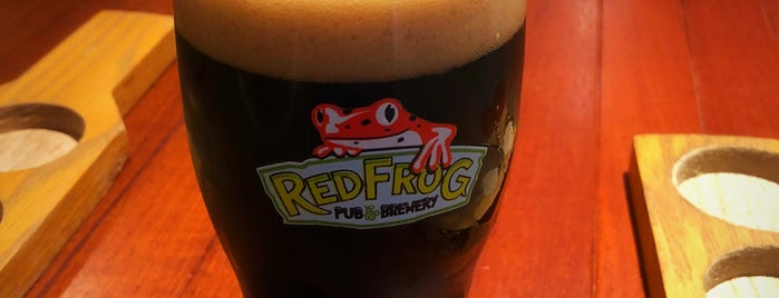 RedFrog Pub & Brewery is one of Orte, die Mandy gefallen.