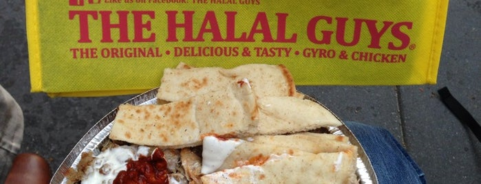 The Halal Guys is one of Comer NY.