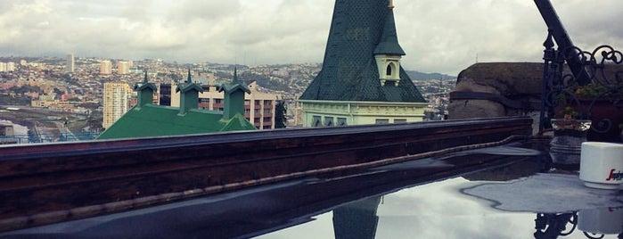 Cerro Concepción is one of Valparaiso.