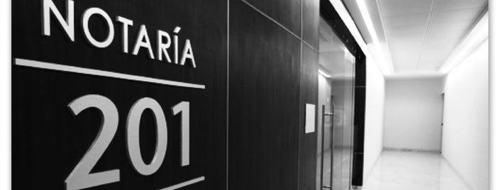 Notaria 201 is one of Por corregir.