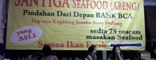 Santiga Seafood (Abeng) is one of Posti che sono piaciuti a ZRezhia.