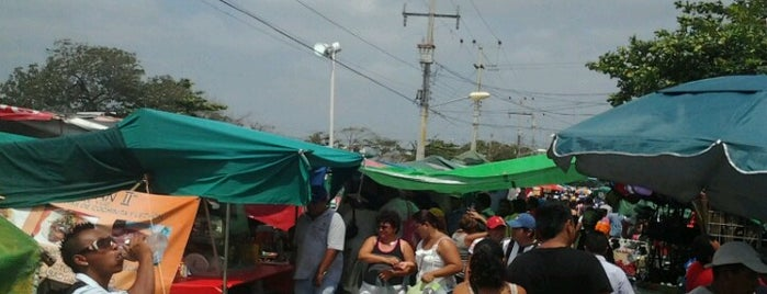 Tianguis de la 101 is one of Mexico // Cancun.